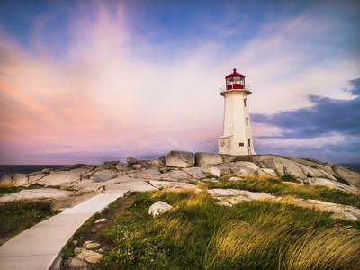 Sunrise on Peggys Cove