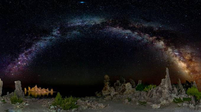 Mono Lake Milky Way by BensViewfinder - Dark And Bright Photo Contest