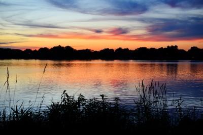 Sunset on Lake Tomah