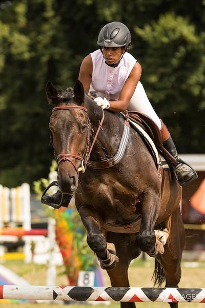 Aude C. horse riding | Equitation