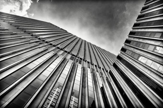 Sydney Hilton hotel by Peterguo - Black And White Architecture Photo Contest