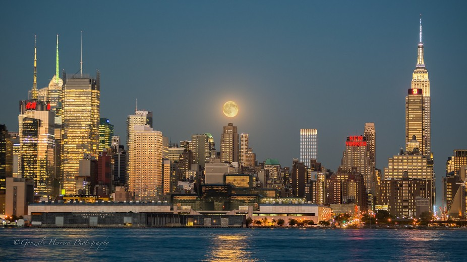 Moon Over the City