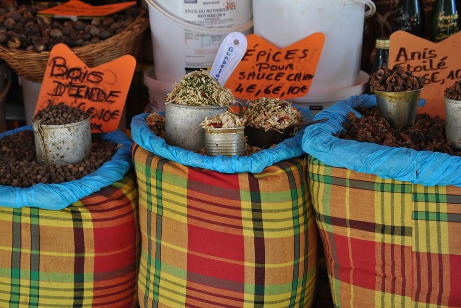 Guadeloupe Spice Market