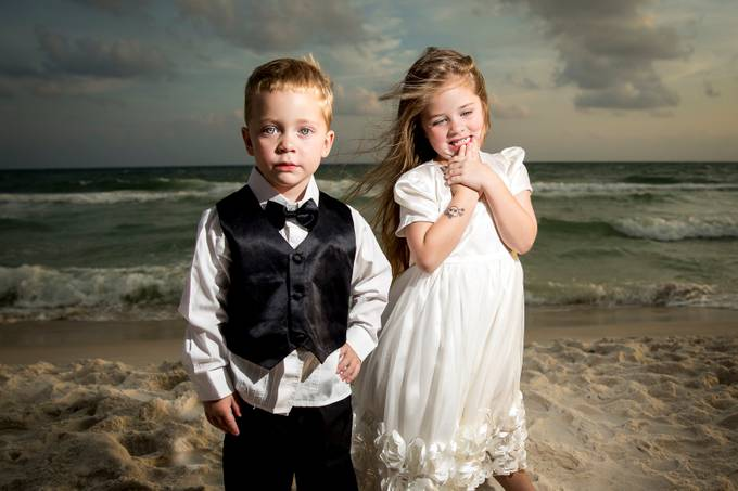 Beach Formal by jaypak - Fill Flash Photo Contest
