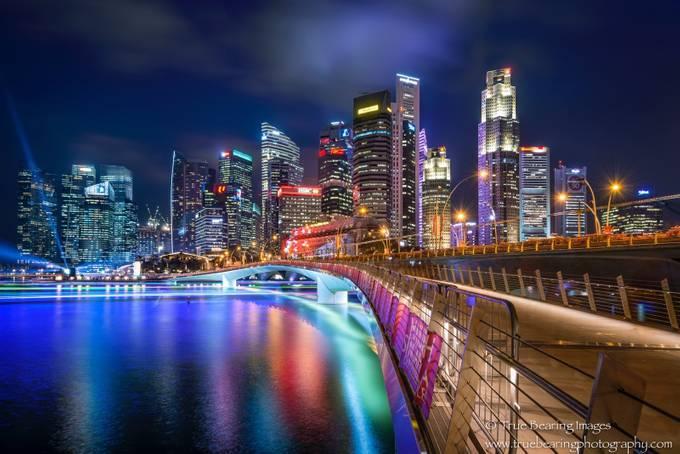 City in Lights by richardvandewalle