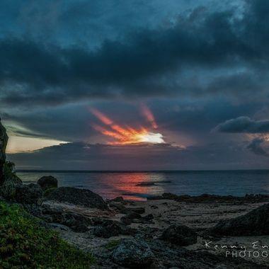Sunset, Aguadilla, Puerto Rico