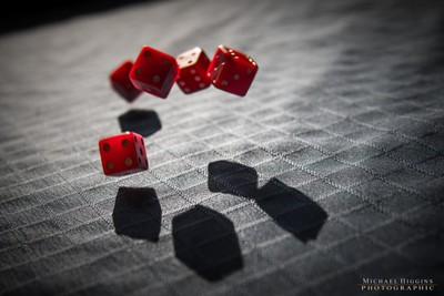the red dice tumble