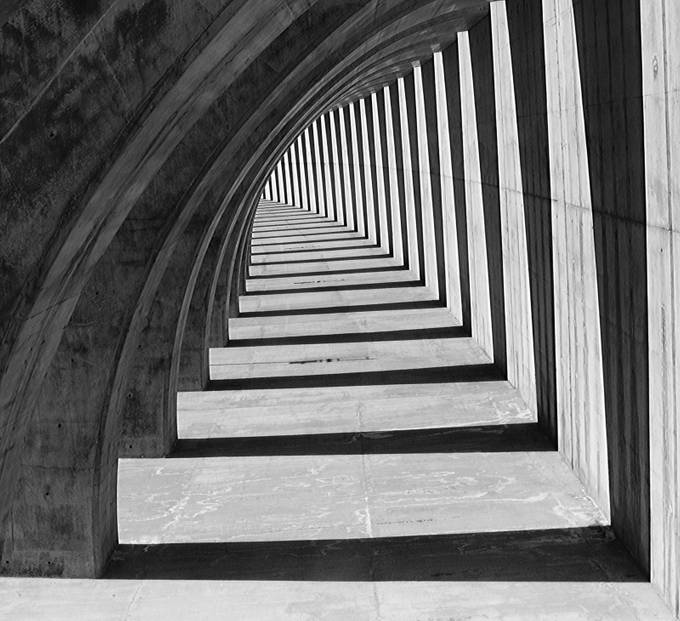 Shadow Arch by mwagstaff - Your Point Of View Photo Contest