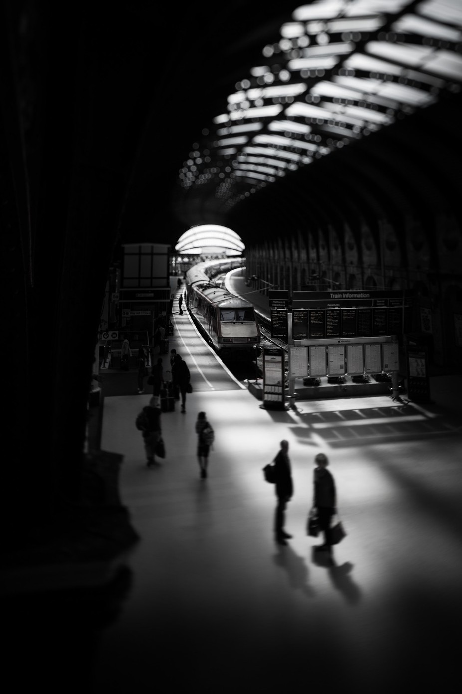 Passengers by DrawsWithLight - TiltShift Effect Photo Contest