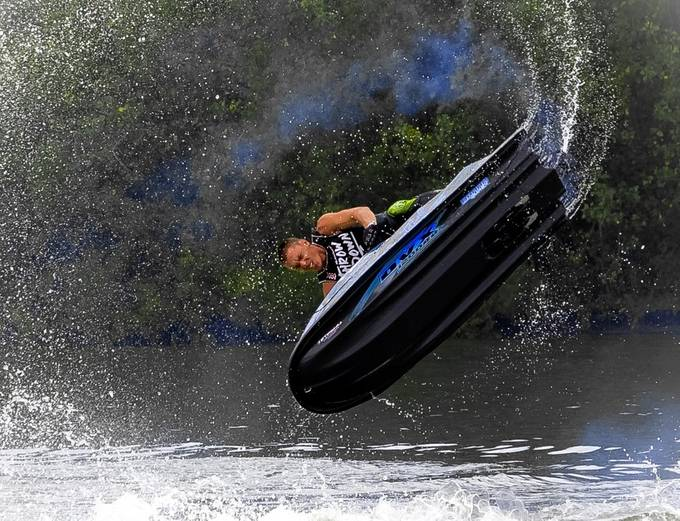 Wave Runner Stunt by jimhaycock - Outdoor Action and Adventure Photo Contest by Focal Press