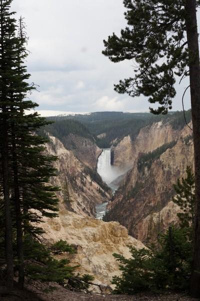 Waterfall at Yellowstone