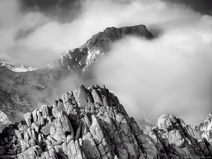Mystery Mountain by stevealbano - Landscapes In Black And White Photo Contest