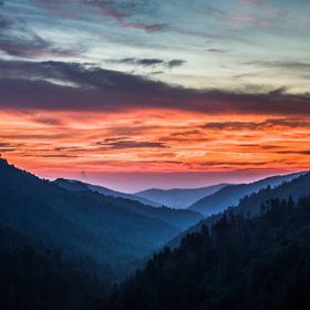 The Great Smoky Mountains, Tennessee