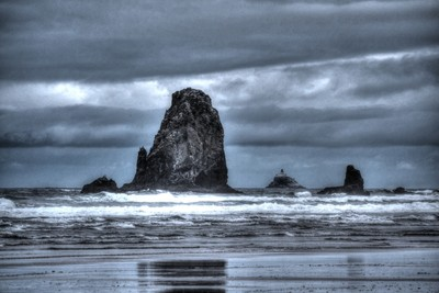 Cannon Beach Rocks