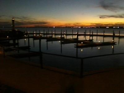 Sunset at Rockwall, TX Harbor