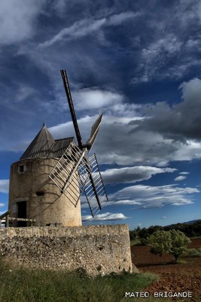 Le moulin de Régusse