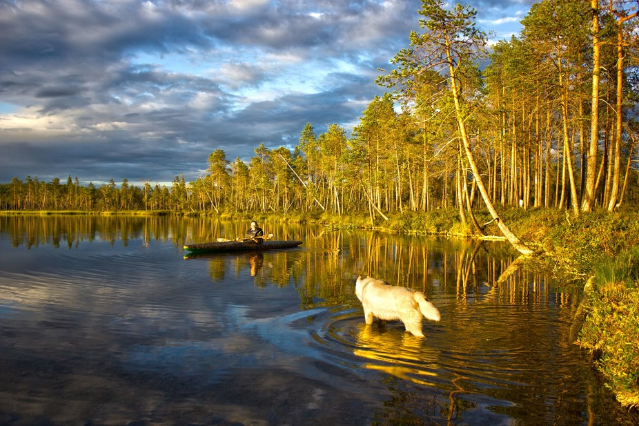 Vacation in Lapland
