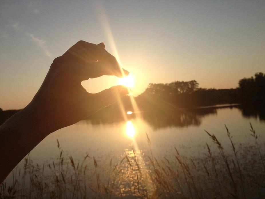 Sun in my fingertips