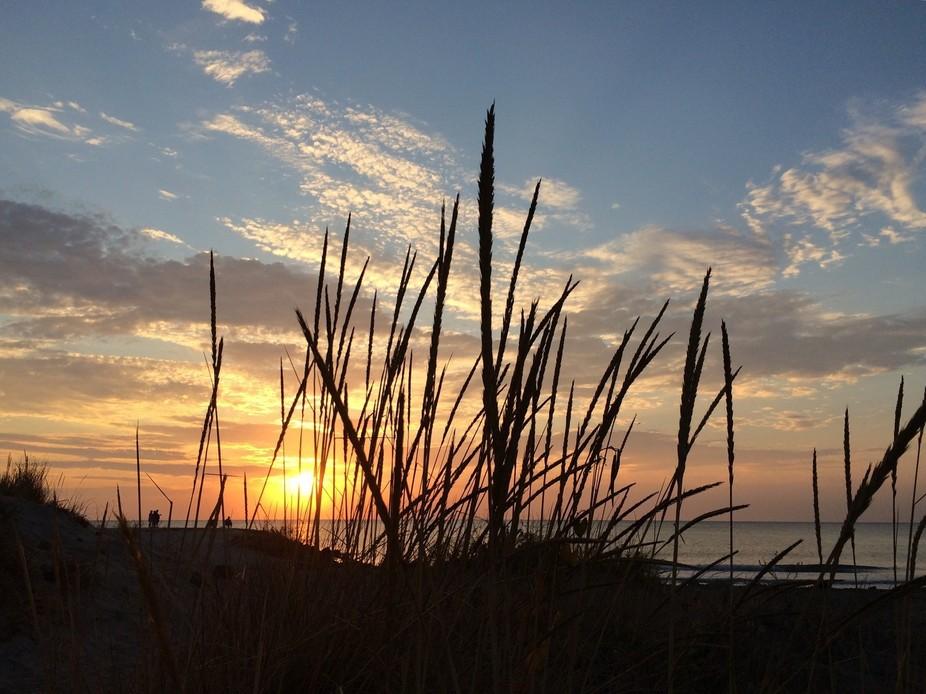 At dawn...