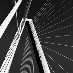 The Arthur Ravenel Bridge in Charleston SC