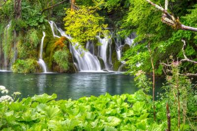 Small Plitvice Waterfall