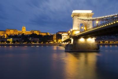 Chain Bridge Evening