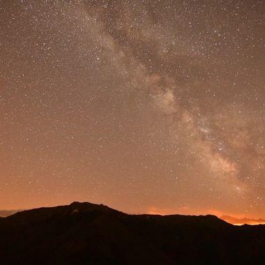 Via Láctea sobre Picos de Europa