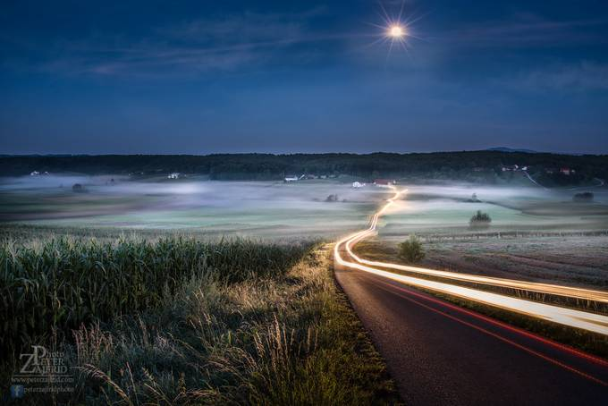 Under the moonshine by saintek - A Road Trip Photo Contest