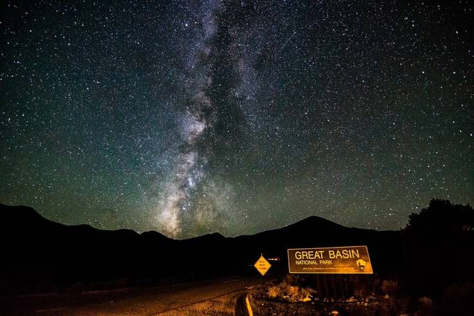 Great Basin National Park, Nevada by Jdronan - Billboards And Other Signs Photo Contest