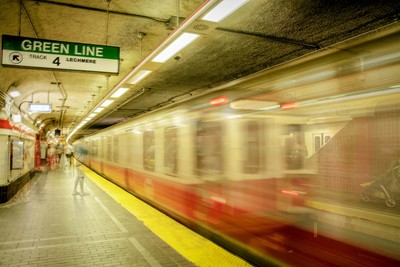 Boston - Red line train