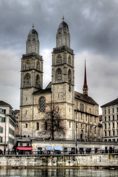 The Grossmünster, Zurich, Switzerland