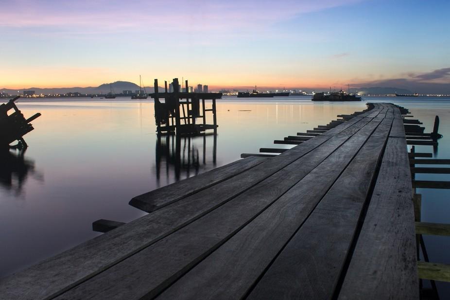 Georgetown waterfront - Penang.