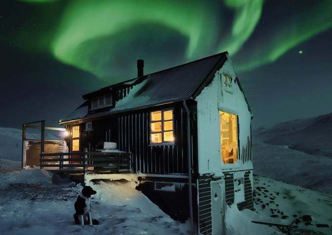 Cabin Fever by kristjneinvarurkarlsson - Isolated Cabins Photo Contest