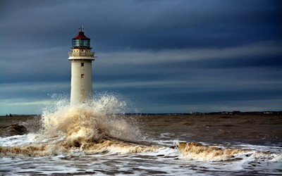 Lighthouse, New Brighton, UK