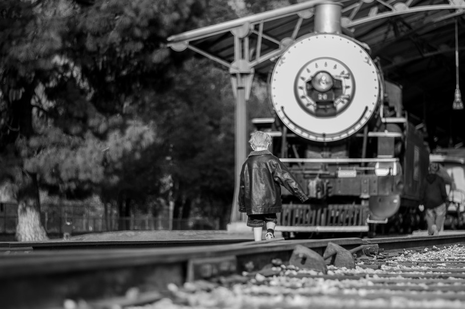 Childhood Dreams of being a Train Engineer