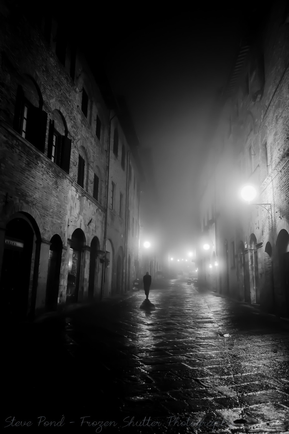 Count of San Gimignano by Steve-Pond - A Black And White World Photo Contest