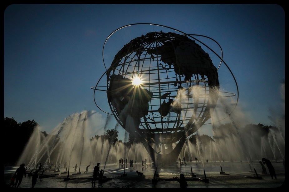Unisphere N Fountains