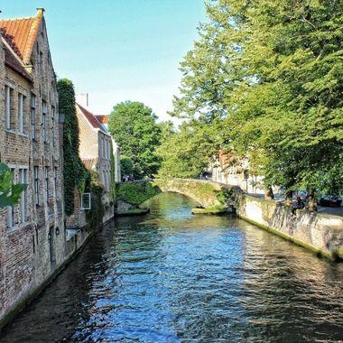 This photo was taken in Brugge, Belgium in 2012.