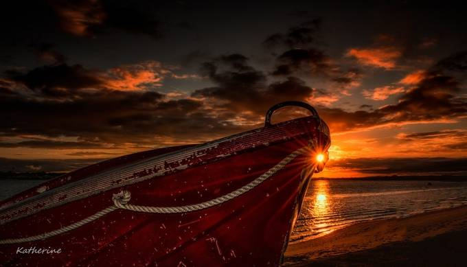 BOAT SUNSET by SnapshotzPhotography - Ships And Boats Photo Contest