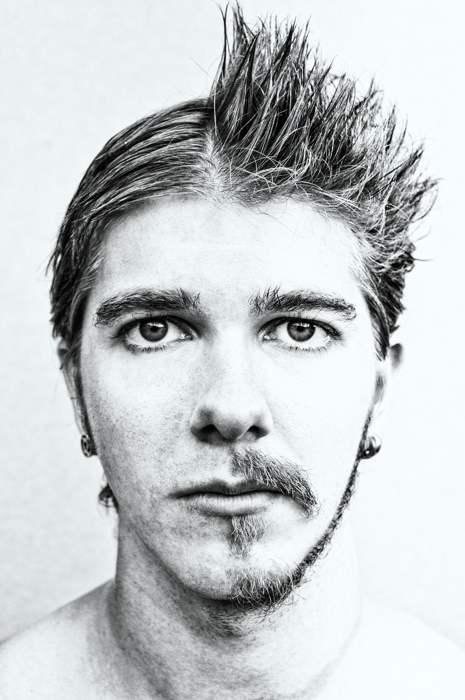 Half and Half by elyprosser - Movember Photo Contest