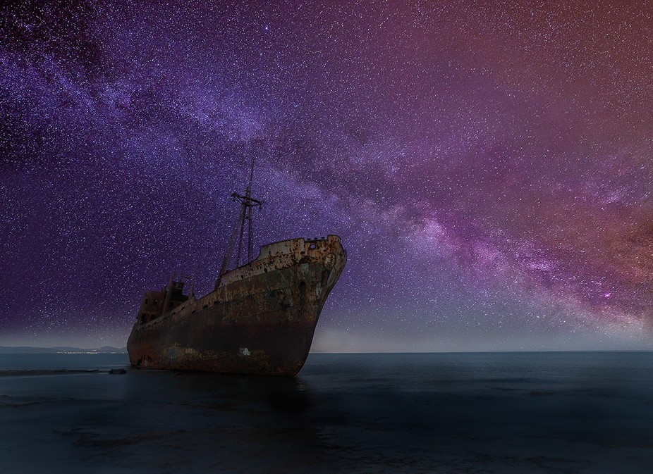 Photograph this shipwreck and all the beautiful landscapes in Greece, visit www.shuttertrips.com ...