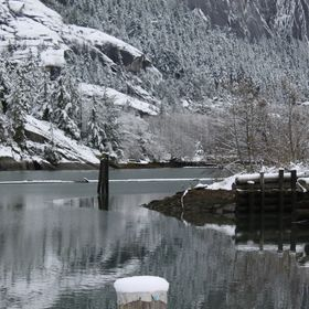 Squamish in the winter.