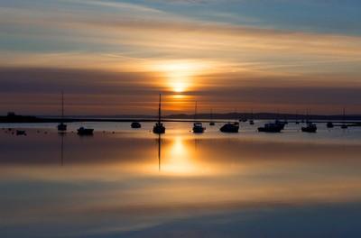 New March Sunrise