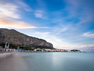 Palermo Sunset on the Beach