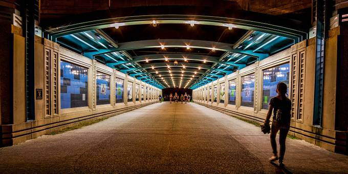 Chicago Tunnel by dscham - Shooting Tunnels Photo Contest