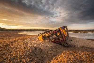Saunton Shipwreck