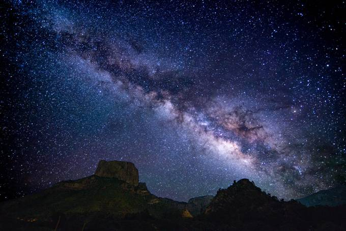 milky way from big bend by jeffcohen - Image of the Year Photo Contest by Snapfish