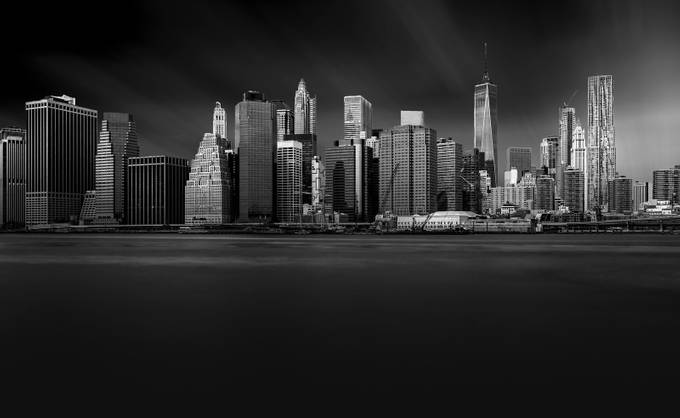 New York Skyline by LarryGreene - Black And White Architecture Photo Contest