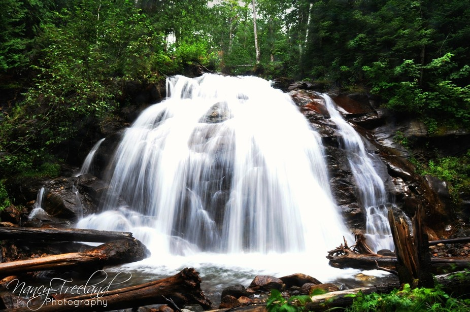 Stumbled upon these falls this summer during a family reunion on our old homestead. Who knew such...