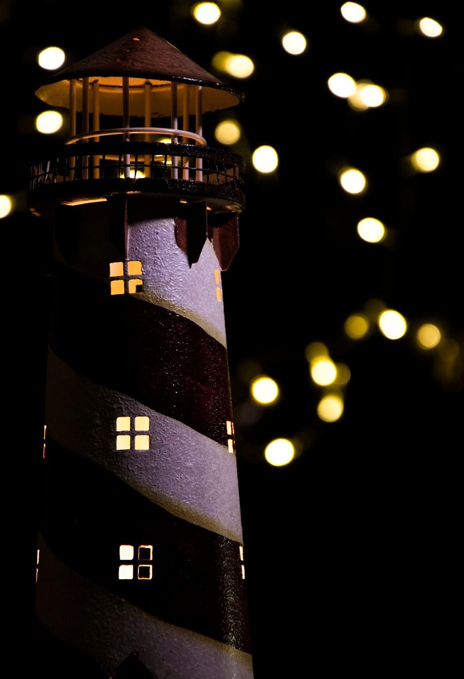 starry night at the light house by lukeperez - Night Wonders Photo Contest